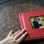 Video! Cute red hot flush album for Sarah Hoppes Photography