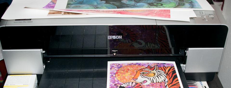 Archival Fine Art Printing setup